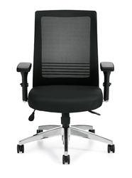 Ergonomic Chair with Adjustable Lumbar Support