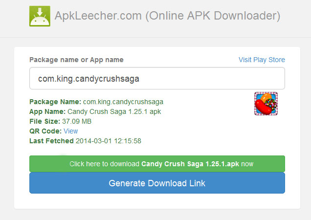 direct apk downloader for pc