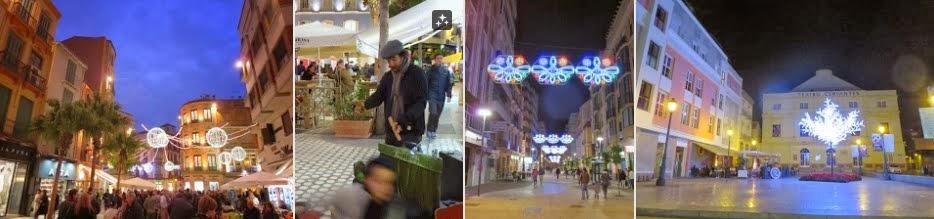 New Year's Eve in Málaga, Spain