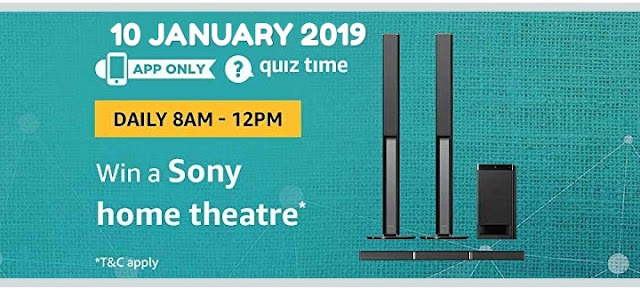 amazon-quiz-10-january-2019