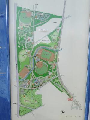 寝屋川公園 園内マップ