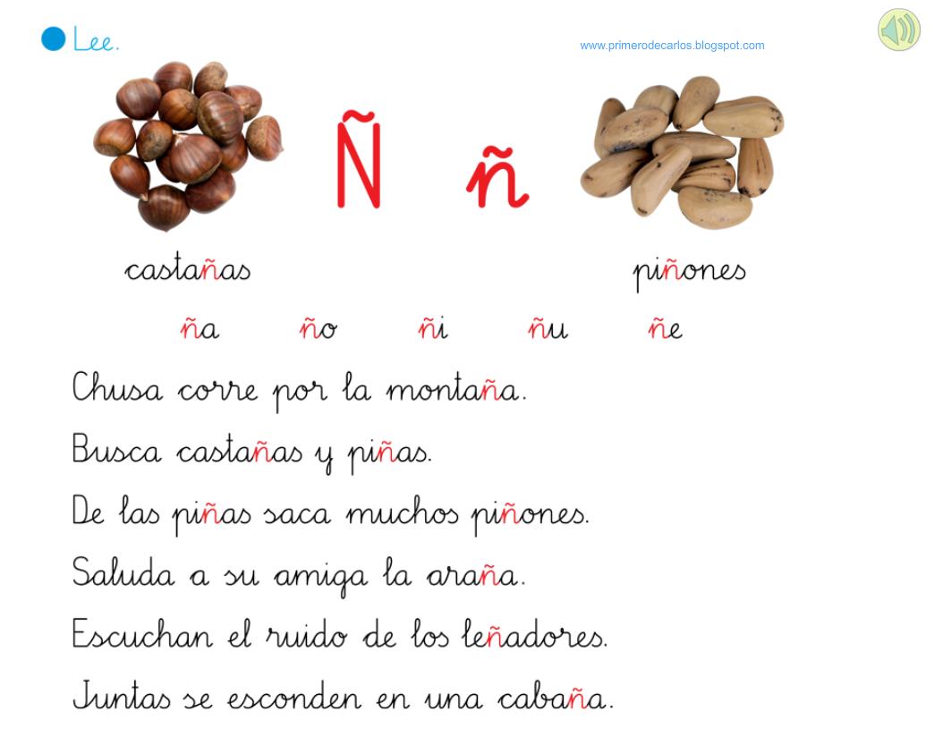 Lecturas Interactivas Ll Y ñ Aula De Elena