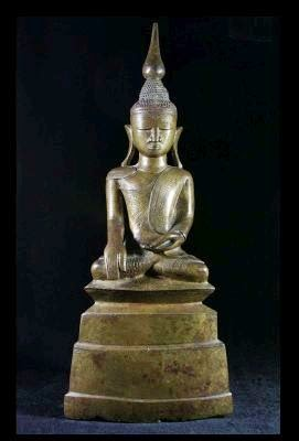 antique Birmese buddha