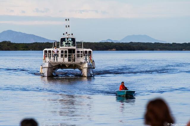 Catamarã fará viagens ao Marujá durante o Carnaval