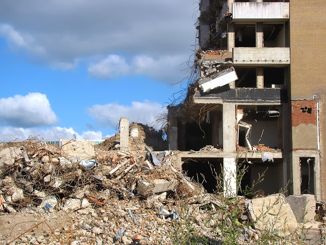Demolition of a Building Structure