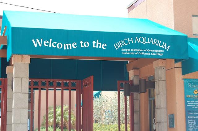Birch Aquarium em La Jolla em San Diego