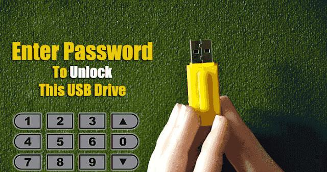 كيفية حماية فلاشة USB بكلمة مرور