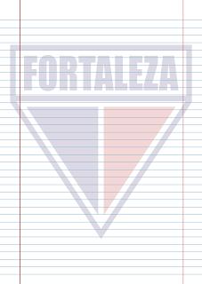 Papel Pautado do Fortaleza PDF para imprimir na folha A4