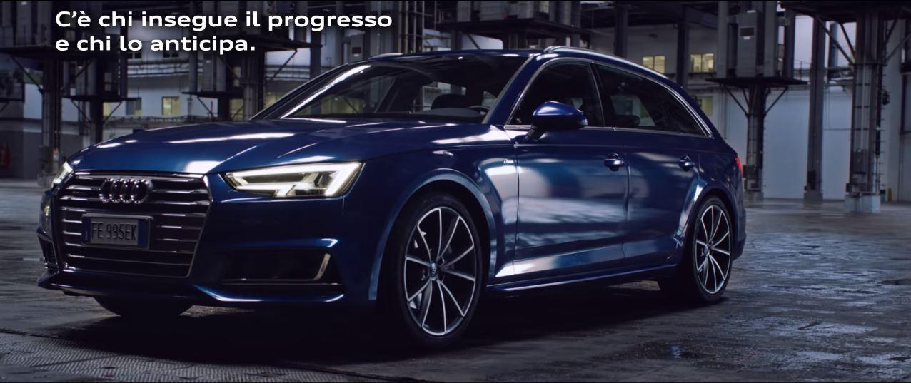 Canzone Audi A4 anticipa il progresso Pubblicità | Musica spot Ottobre 2016