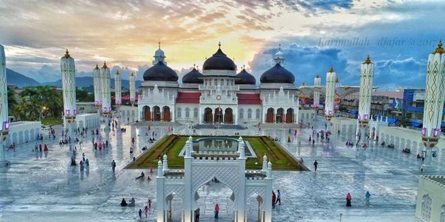 Masjid Baiturrahman Prototipe Masjid di Nusantara