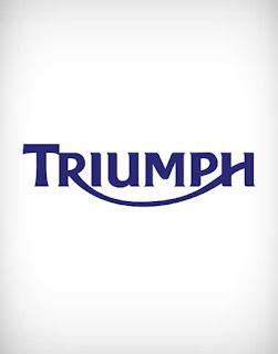triumph vector logo, triumph logo, triumph, triumph bikes, triumph motorcycles, triumph bra, triumph international