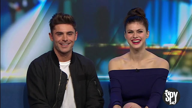 A Clip from the interview of Zac Efron and Alexandra Daddario