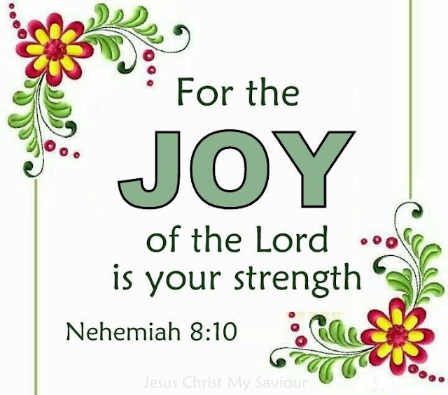 Lord is Our Strength Nehemiah Bible Verse