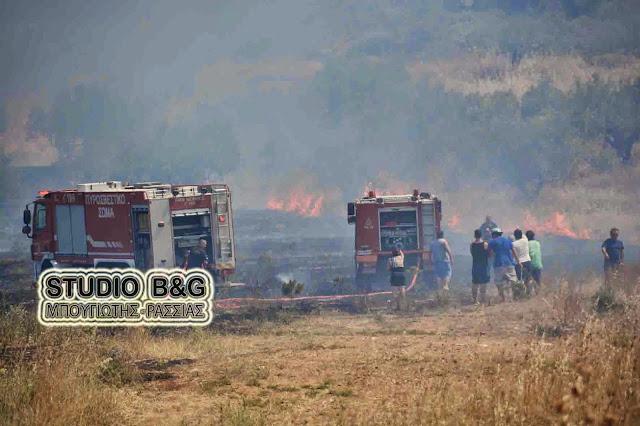 56 πυρκαγιές μέσα σε 24 ώρες
