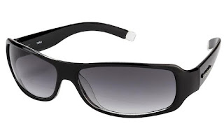 Fastrack Wrap Sunglasses Black