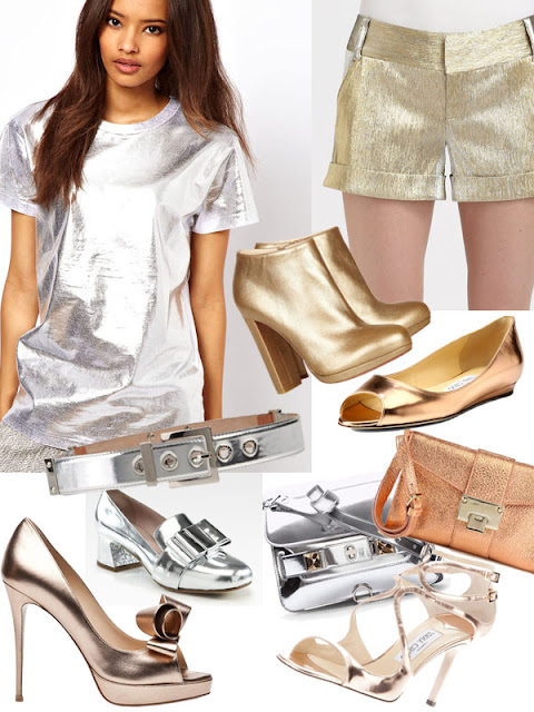 Spring Trend 2013  Metallic