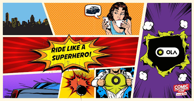 Free Rides to ComicCon Express By Ola In Pune