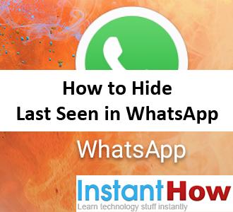 How to Hide Last Seen in WhatsApp