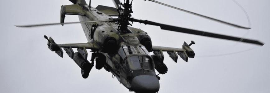 На Росії здійснив перший політ модернізований Ка-52М