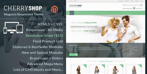 responsive eCommerce template