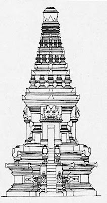 Temple of East Java style