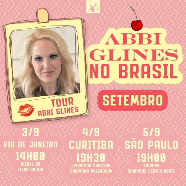 Finalmente foi divulgado o horário da sessão de autógrafos da Abbi Glines  na Bienal do Livro que acontecerá no Rio de Janeiro. Ela atenderá aos fãs  no dia 3 ... ea3be14566