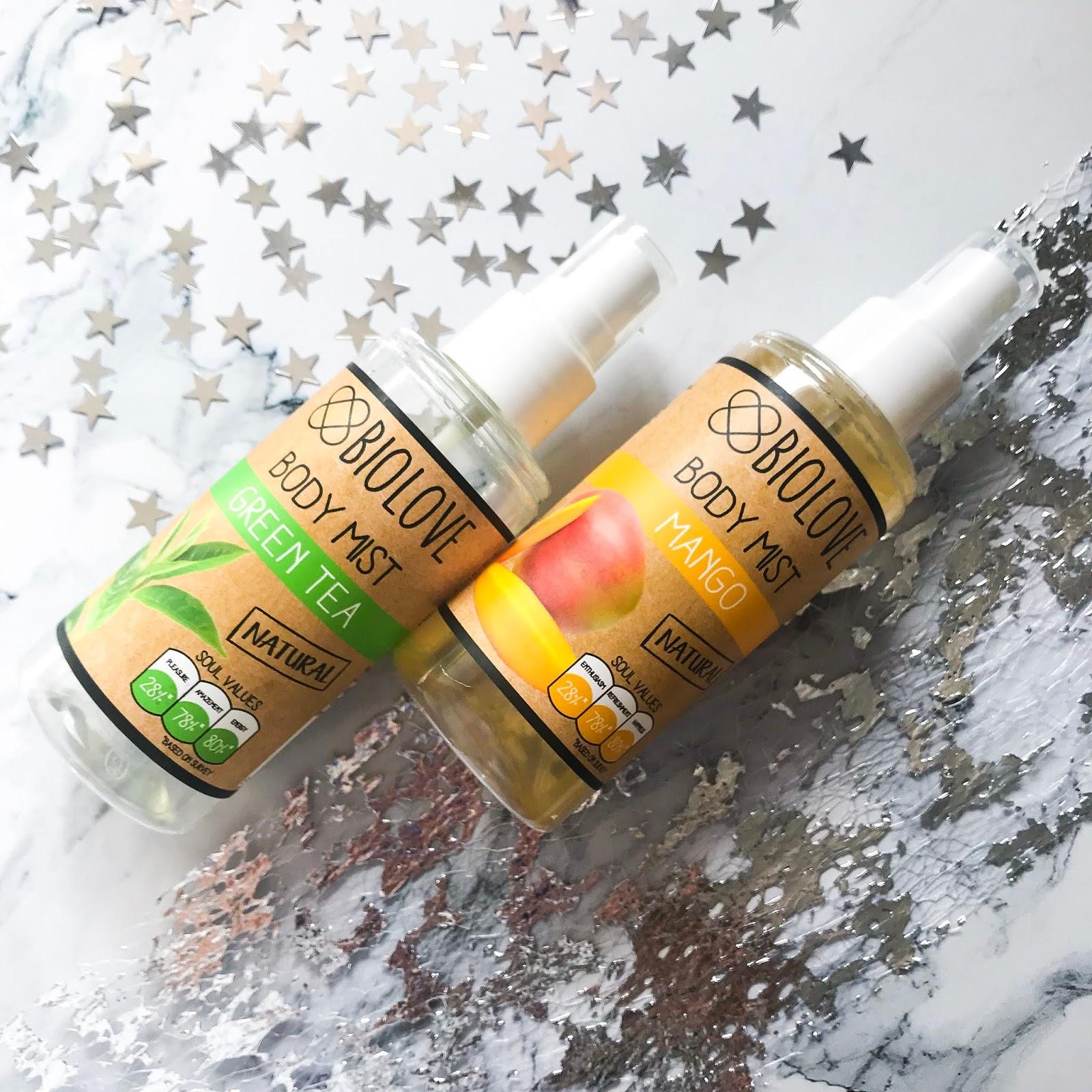 Co warto kupić w Kontigo? Kosmetyki marki Biolove! naturalne kosmetyki, mgiełka do ciała biolove