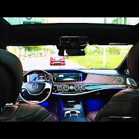 Mercedes S500 L 2015 đã qua sử dụng nội thất Kem
