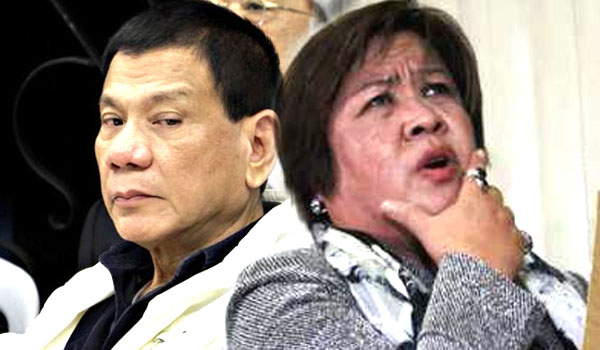 De Lima tells Duterte to present plans instead of peddling lies
