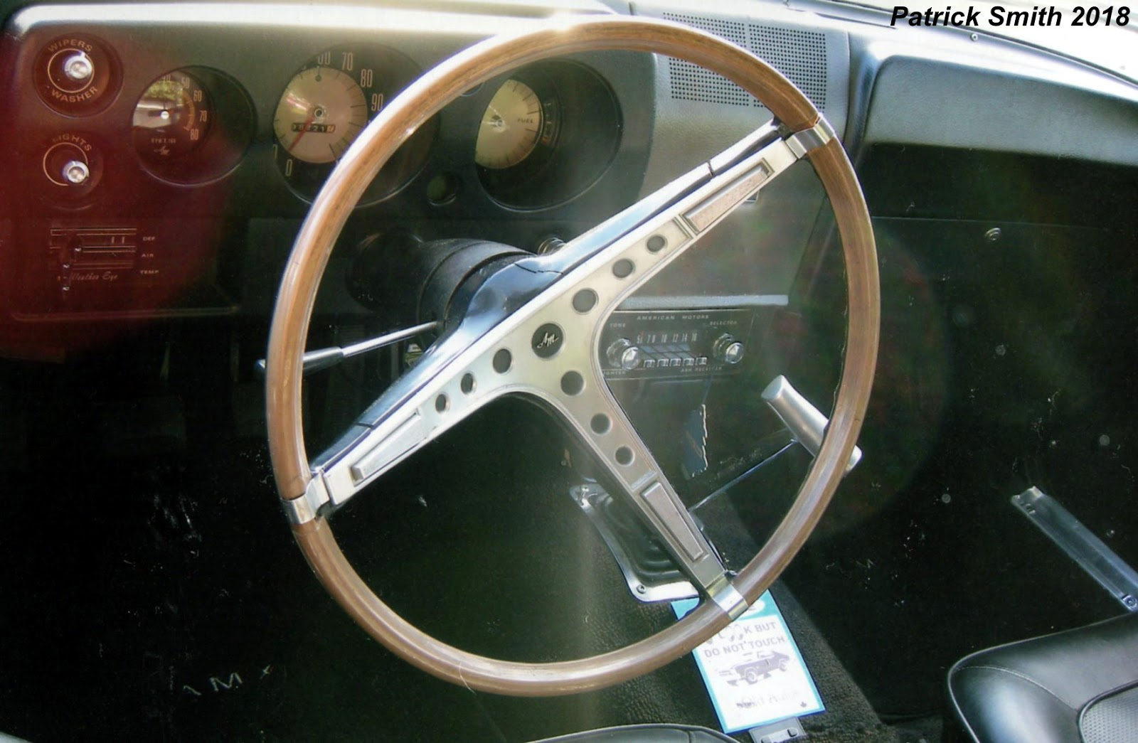 Phscollectorcarworld February 2018 1968 Amx Tachometer Wiring Diagram Wood Grain Steering Wheel And Pushbutton Radio Are Just Two Options Found In This Coupe