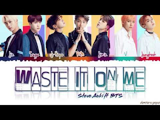 STEVE AOKI feat BTS - WASTE IT ON ME