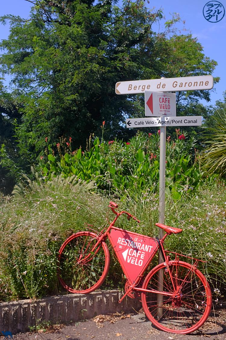 Le Chameau Bleu - Blog Voyage Vélo Le Canal des 2 mers - Accueil Vélo sur le Canal des 2 mers à Agen