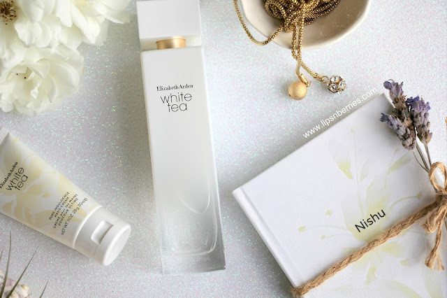 elizabeth arden white tea hand cream review