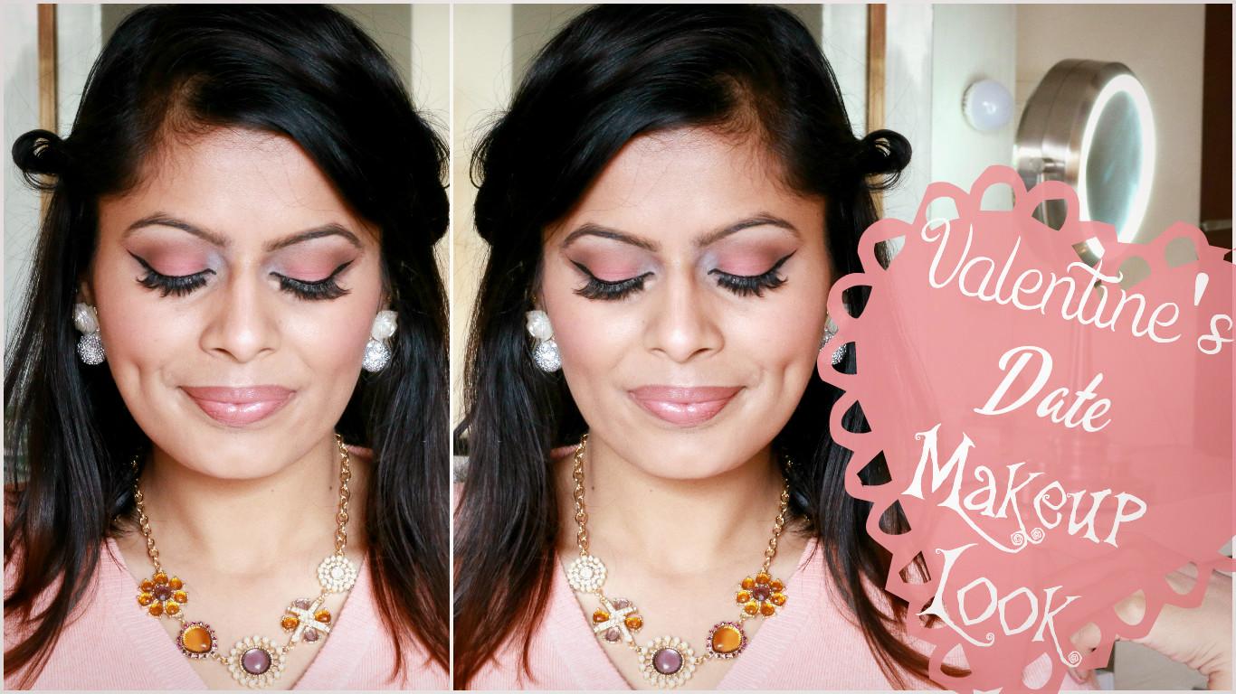 Soft Romantic Valentine's Date Makeup Look   Kavya K   Indian Makeup