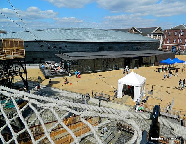 Museu dedicado ao navio Mary Rose