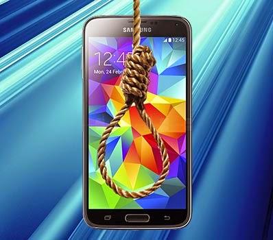 Phone hangs