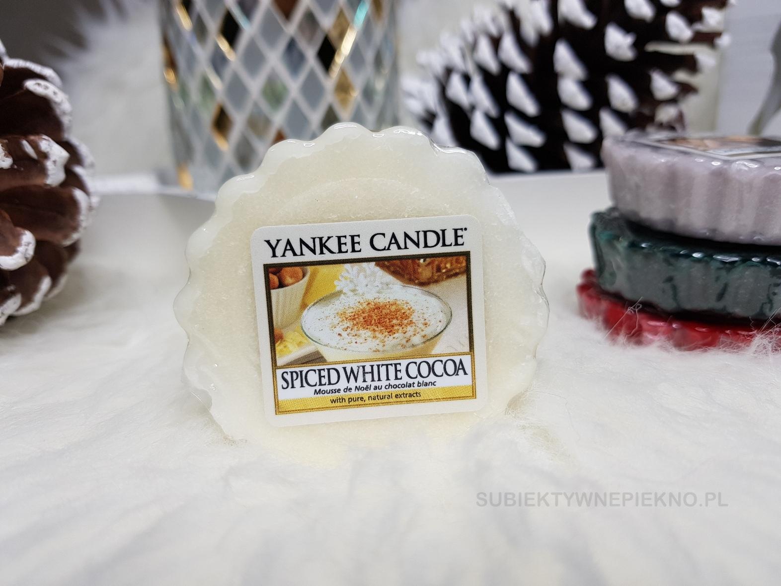 Spiced White Cocoa Yankee Candle | kolekcja zimowa Q4 2017