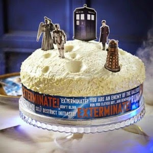 Doctor Who Cake Decoration Kit by Lakeland