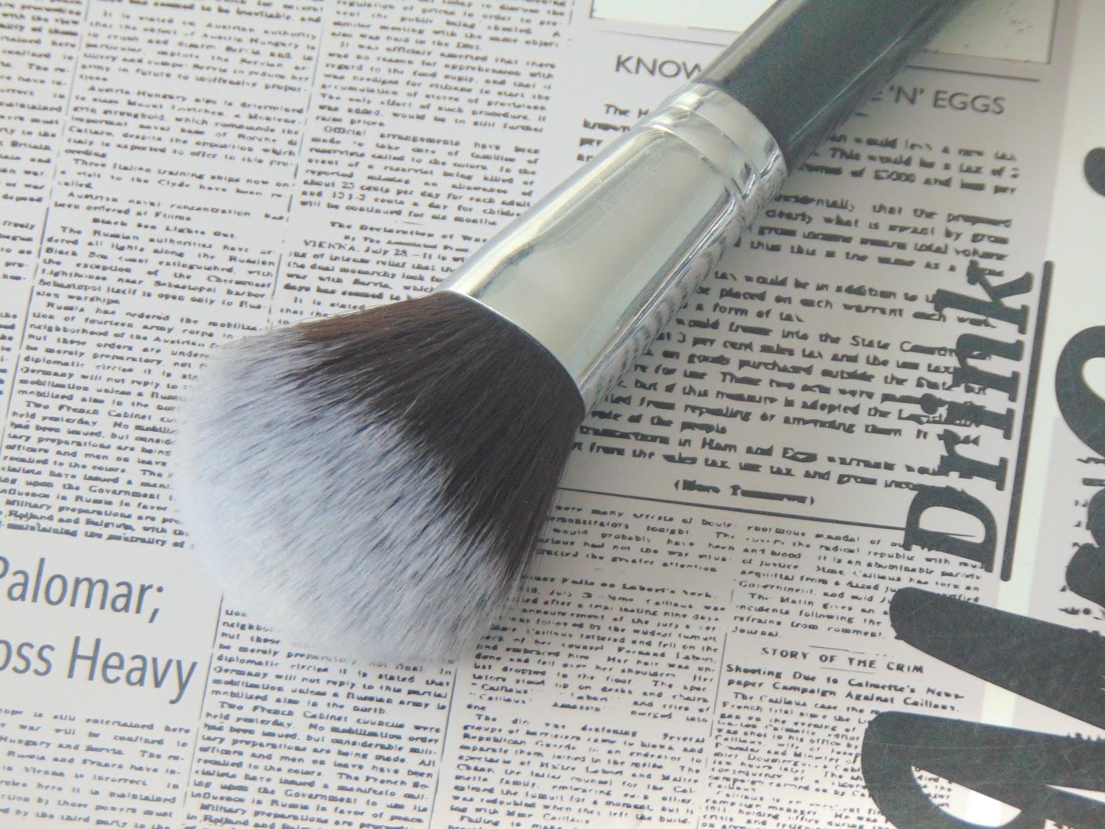 pędzle nanshy brushes onyx black powder brush