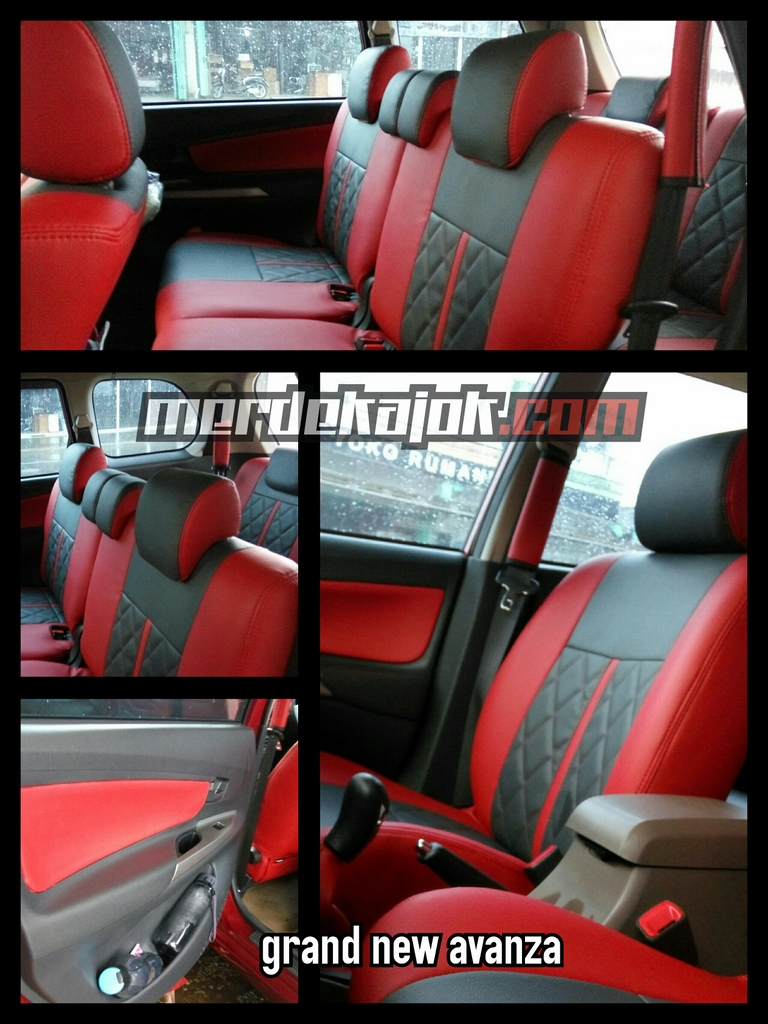 jok grand new avanza corolla altis diesel automatic mobil malang merdekajok cover gray vs elegant red