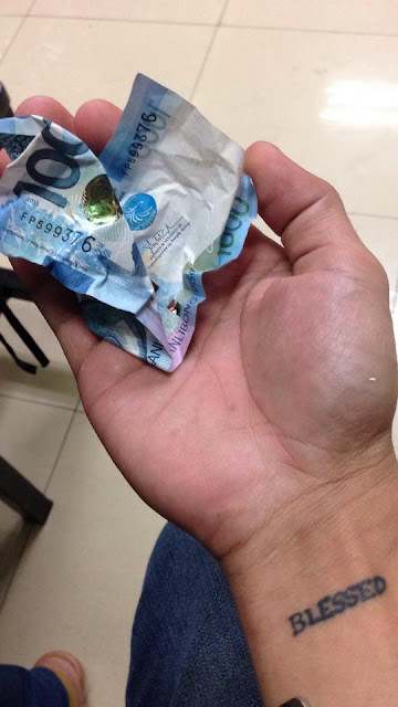 Netizen shares the story about a one thousand peso bill that taught everyone a valuable lesson in life.