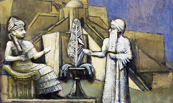 Semitik mitoloji,Sümerler,Akadlar,Asurlar,Dinlerin mitolojik kökenleri,Mezopotamya,Babiller,Sümerlerden gelen din,Babillerden gelen din,Mezopotamya uygarlığının dine etkileri,A,mitoloji,