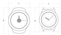 dimensioni samsung gear s2 e s2 classic