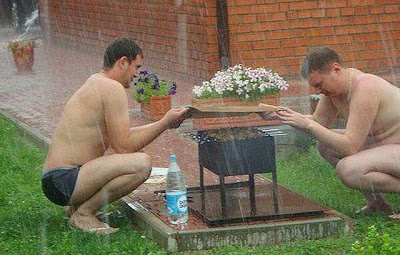 Fotos extrañas y divertidas en Rusia.