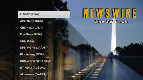 NEWSWIRE Roku Channel