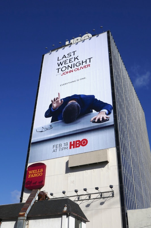 Last Week Tonight John Oliver 5 billboard