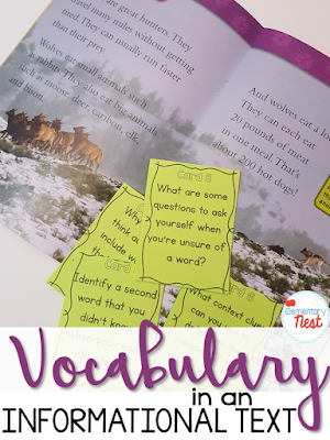 Unknown Words and Phrases- Determining the meaning of difficult vocabulary in a nonfiction text- activities and hands on reading lesson for elementary students RI.1.4 RI1.4 RI.2.4 RI2.4 RI.3.4 RI3.4 RI.4.4 RI4.4