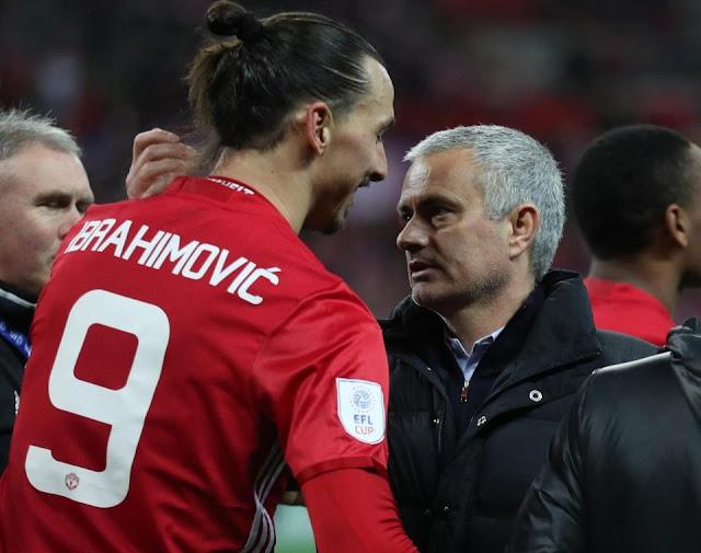 Jose Mourinho Inginkan Zlatan Ibrahimovic Kembali ke Manchester United