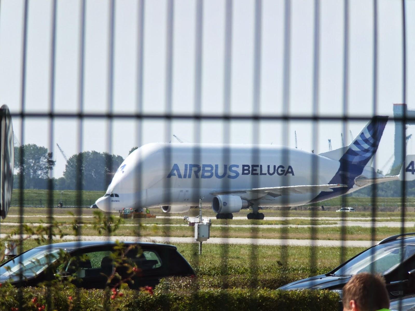 AIRBUS BELUGA エアバスベルーガ4号機