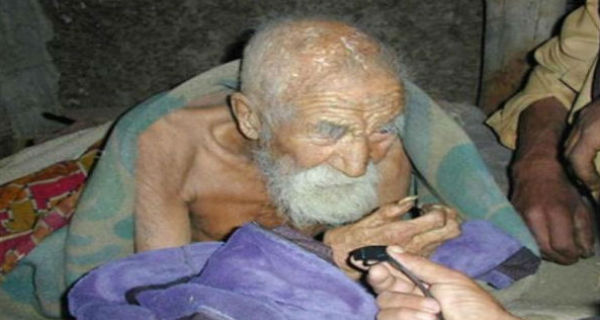 THIS MAN IS 179 YEARS OLD: 'MAYBE THE ANGEL OF DEATH HAS FORGOTTEN ABOUT ME'! HE SAID